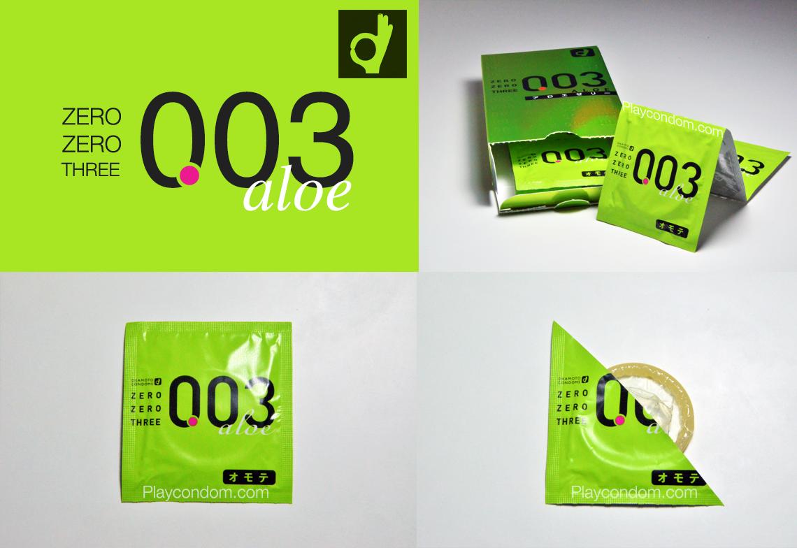 Okamoto 0.03 Aloe (Japan Edition) preview