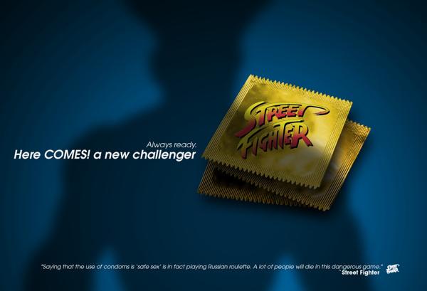ถุงยาง Street Fighter